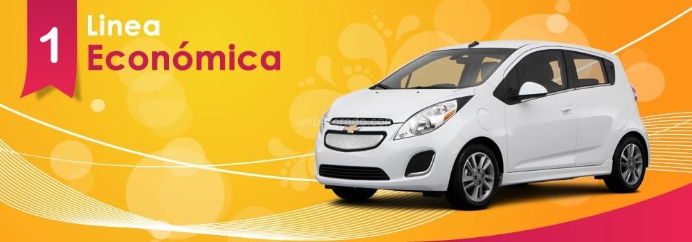 Alquiler de vehiculos de linea economica