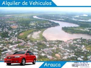 Alquiler de vehiculos en Arauca