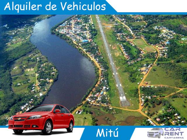 Alquiler de vehiculos en Mitú