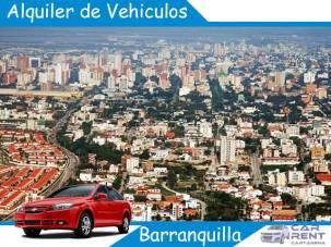 Alquiler de vehiculos en Barranquilla