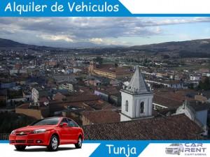 Alquiler de vehiculos en Tunja