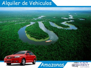 Alquiler de vehículos en el amazonas