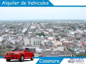 Alquiler de vehiculos en Casanare