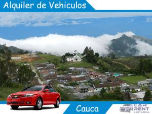 Alquiler de vehiculos en Cauca
