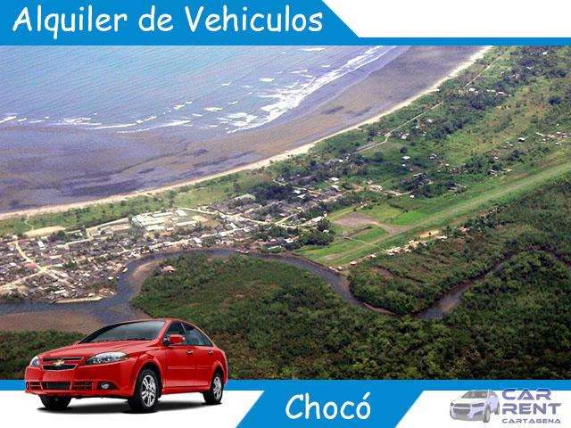 Alquiler de vehiculos en Chocó