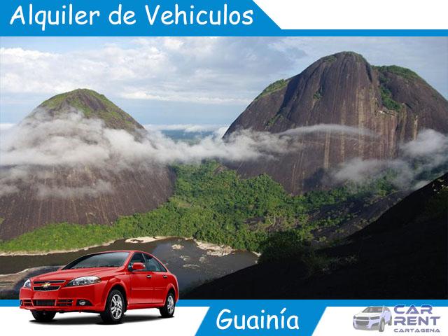 Alquiler de vehiculos en Guainía