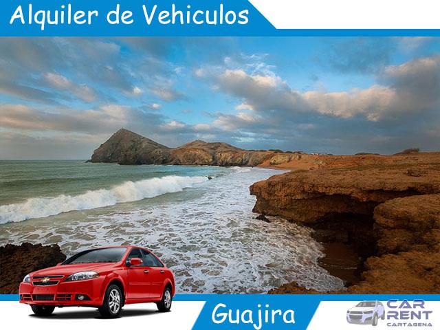 Alquiler de vehiculos en la Guajira
