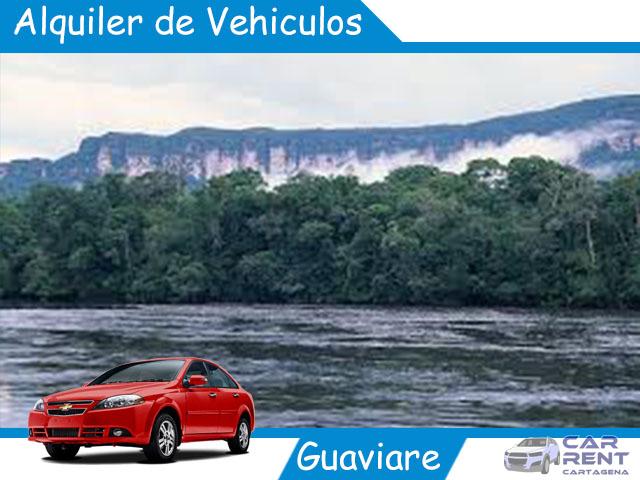 Alquiler de vehiculos en Guaviare