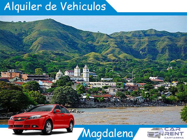 Alquiler de vehiculos en Magdalena