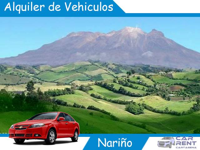 Alquiler de vehiculos en Nariño