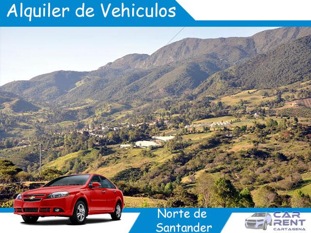 Alquiler de vehiculos en Norte de Santander