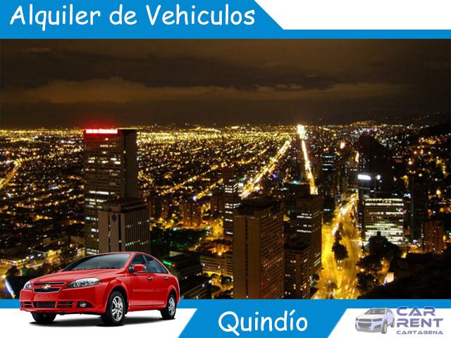 Alquiler de vehiculos en Quindio