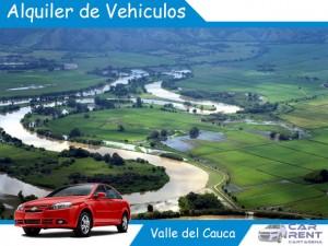 Alquiler de vehiculos en Valle del Cauca