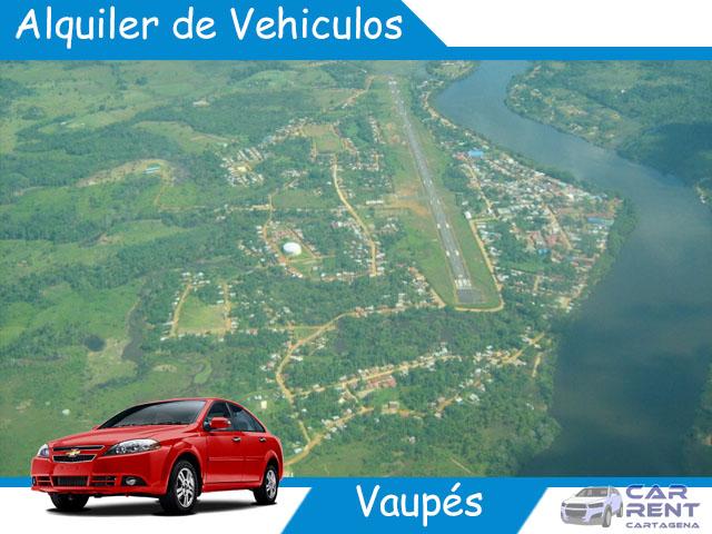 Alquiler de vehiculos en Vaupés