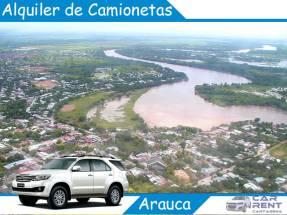 Alquiler de Camionetas en Arauca