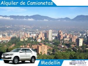 Alquiler de Camionetas en Medellin