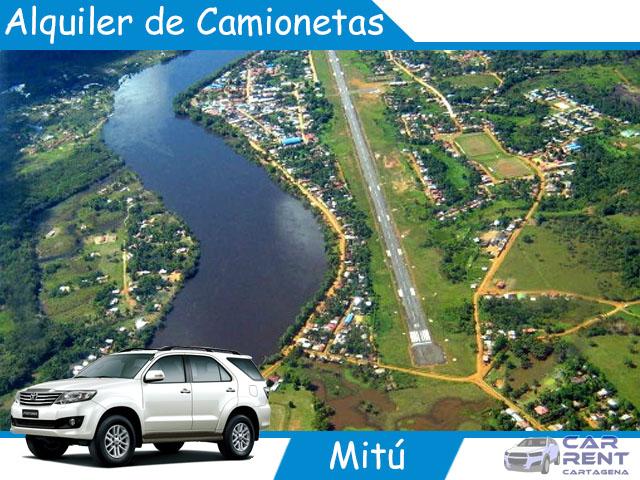 Alquiler de camionetas en Mitú