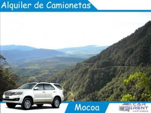Alquiler de camionetas en Mocoa