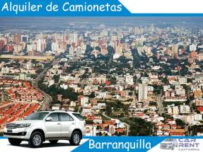 Alquiler de camionetas en Barranquilla