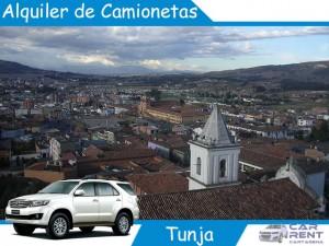 Alquiler de Camionetas en Tunja