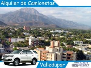 Alquiler de Camionetas en Valledupar