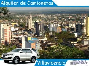 Alquiler de Camionetas en Villavicencio