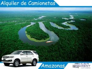 Alquiler de camionetas en el Amazonas