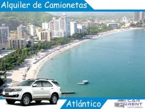 Alquiler de camionetas en Atlántico