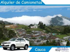 Alquiler de camionetas en Cauca