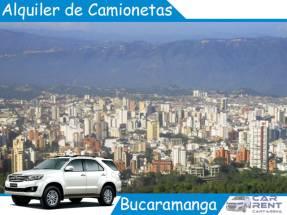 Alquiler de camionetas en Bucaramanga