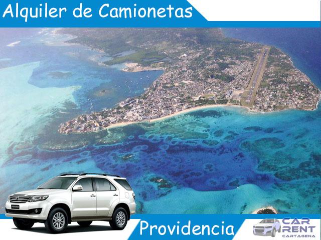 Alquiler de camionetas en Providencia
