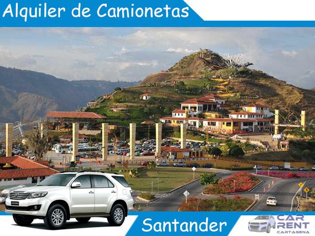 Alquiler de camionetas en Santander