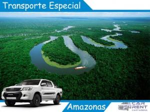 Transporte Especial en el Amazonas