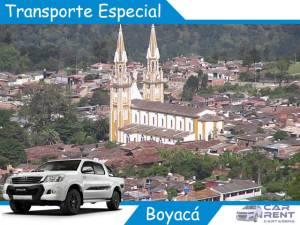 Transporte Especial en Boyacá