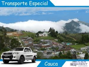 Transporte Especial en Cauca