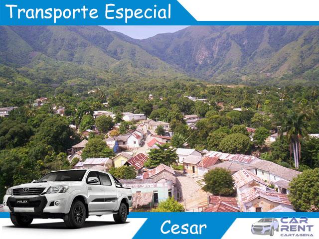 Transporte Especial en Cesar