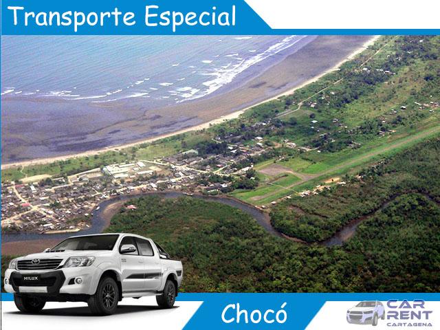 Transporte Especial en Chocó