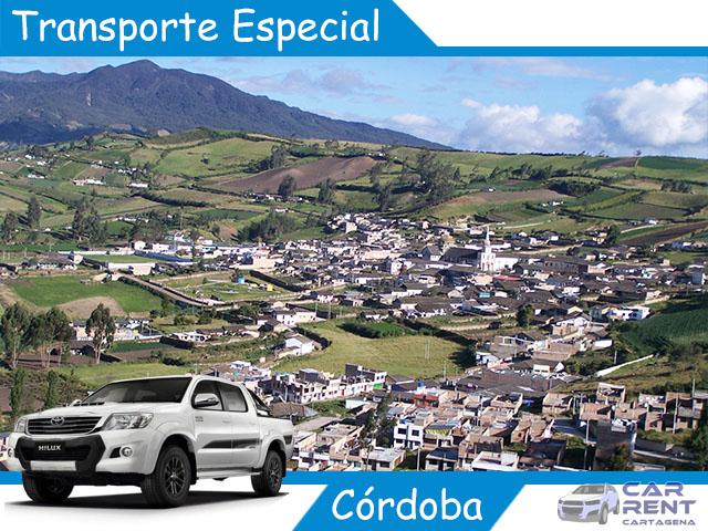 Transporte Especial en Córdoba