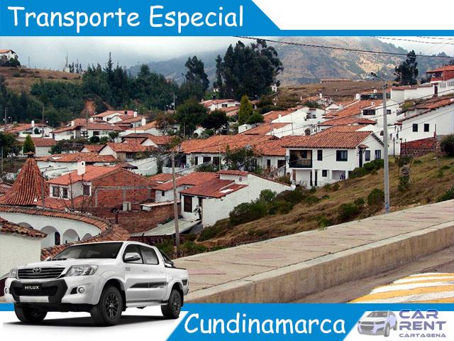 Transporte Especial en Cundinamarca