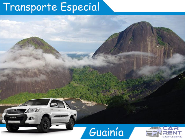 Transporte Especial en Guainía