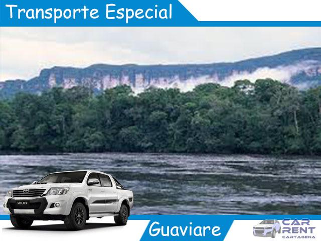 Transporte Especial en Guaviare