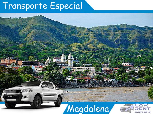 Transporte Especial en el Magdalena