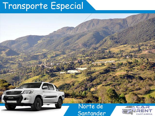 Transporte Especial en Norte de Santander