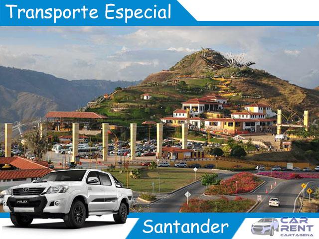 Transporte Especial en Santander