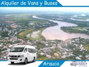 Alquiler de Van Minivan y Buses en Arauca