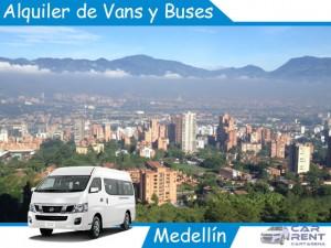 Alquiler de Van Minivan y Buses en Medellín