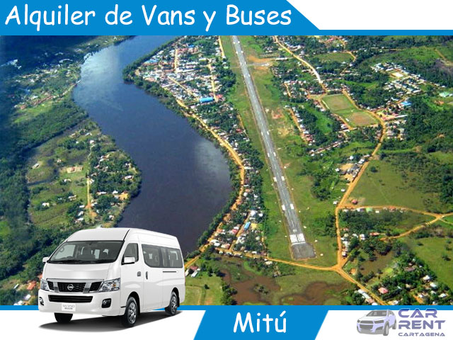 Alquiler de Vans, Minivan y Buses en Mitú