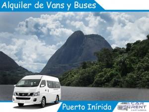Alquiler de Van Minivan y Buses en Puerto Inírida