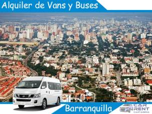 Alquiler de Van Minivan y Buses en Barranquilla