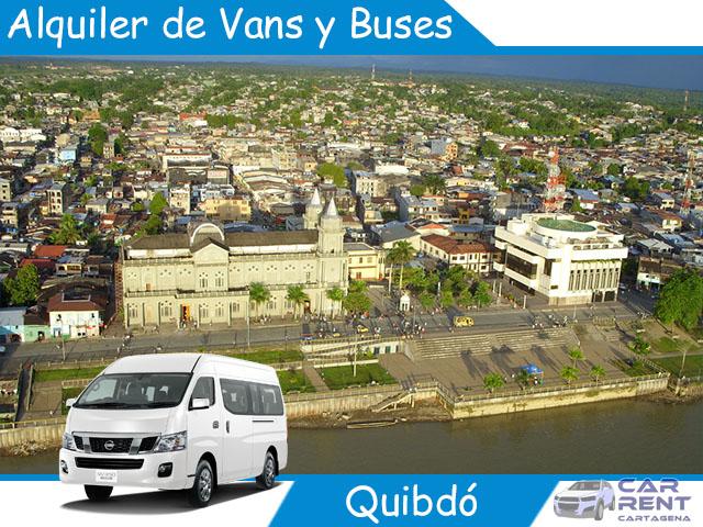 Alquiler de Vans, Minivan y Buses en Quibdó